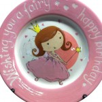 Fairy Happy Birthday Plate
